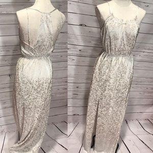 BCBGENERATION Metallic Maxi Dress